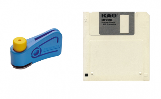 Diskette y perforadora